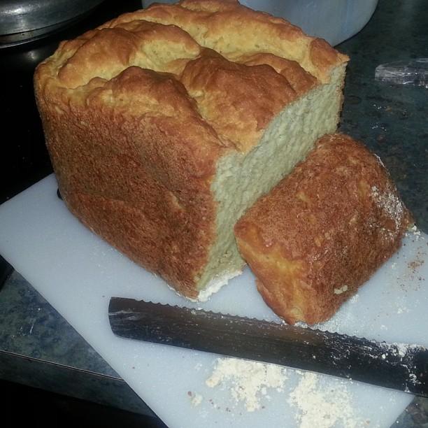 Gluten free bread maker mix